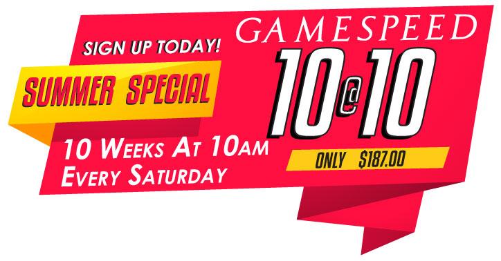 10@10 GAMESPEED Program