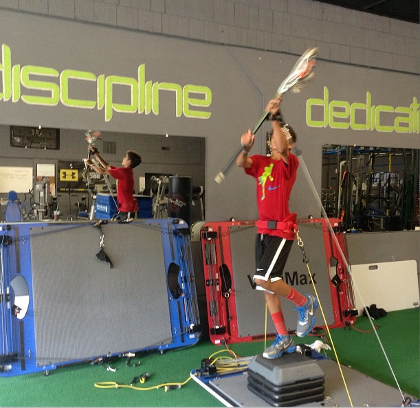 Vertimax Lacrosse Training